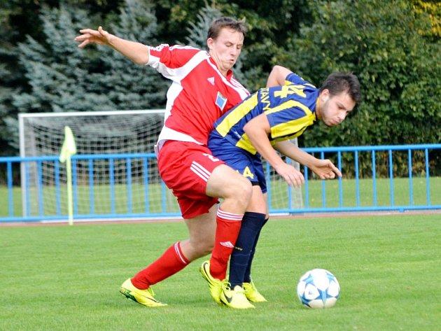 Krajský přebor ve fotbale: Choceň - Svitavy.
