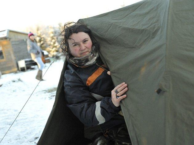 Dvacátý ročník Zimního táboření na Kozlově.