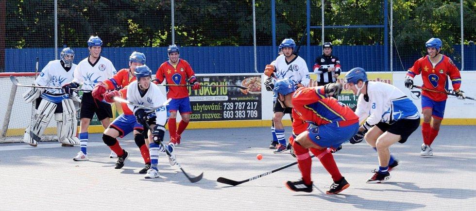 SK Hokejbal Letohrad vs. Kert Park Praha.