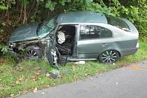 Dopravní nehoda v Hrádku.