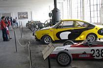 Den otevřených dveří v Muzeu starých strojů v žamberské továrně Vonwiller.