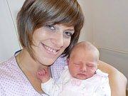 Natálie Chládková je po Kubíkovi druhý přírůstek do rodiny Blanky a Jiřího z Lanškrouna. Narodila se s váhou 3990 g dne 6. 10. v 22.55 hodin.