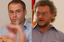 MARTIN KADRMAN a RICHARD PEŠEK  se setkali s dalšími aktéry kauzy, aby diskutovali o budoucnosti nádraží.