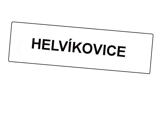 Helvíkovice. Ilustrační foto.