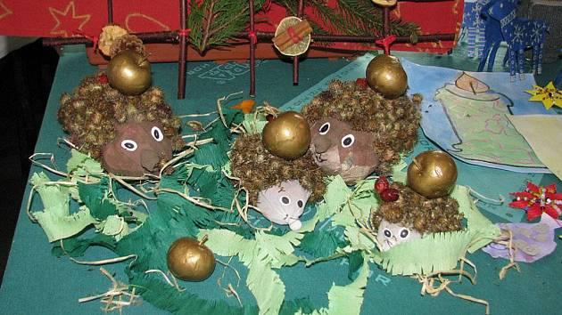 Vánoční výstava v Libchavách.