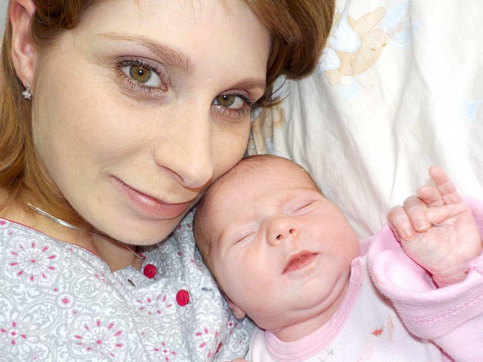 Beáta Křivohlávková je po Julince další holčička Jitky a Petra z Bystřece. Když se dne 16. 3. v 2.31 hodin narodila, tak vážila 3330 g.