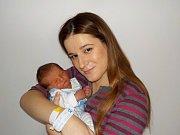 Daniel Adamec je prvním přírůstkem do rodinky Diany a Petra z Letohradu. Narodil se s váhou 3100 g dne 9. 11. v 20.01 hodin.
