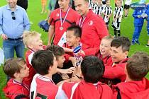 Fotbalisté Slavie Praha ovládli Ondrášovka cup U10.