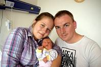 Veronika Dvořáčková se narodila 1. 8. v 14.47 hodin. Vážila 2900 g a radost z ní mají rodiče Martina a Michal i bráška Michal z Letohradu.