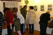 Z výstavy Drahokamy naší přírody zahájené v Jablonném nad Orlicí.