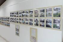 Výstava Zapomenuté Oustí v ústecké knihovně.