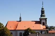Nová střecha ústeckého kostela.