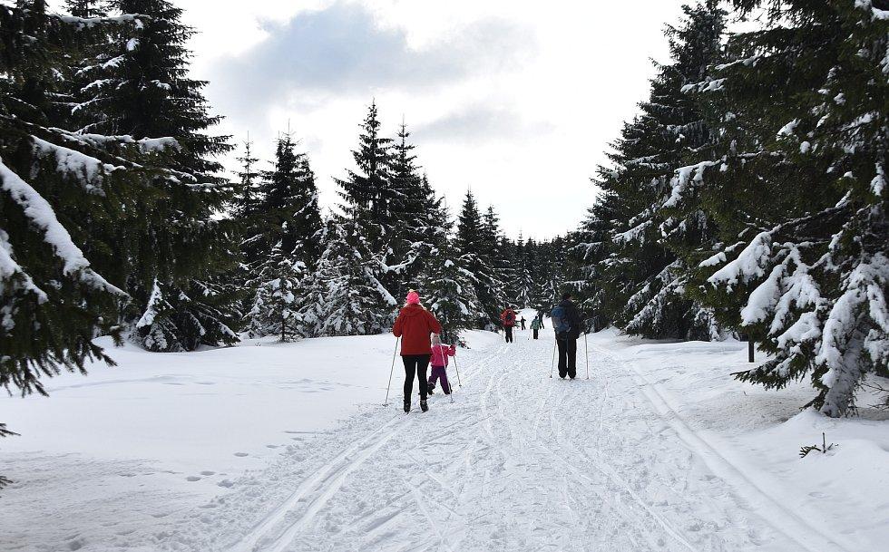 Obleva v Orlických horách kazí radost běžkařům