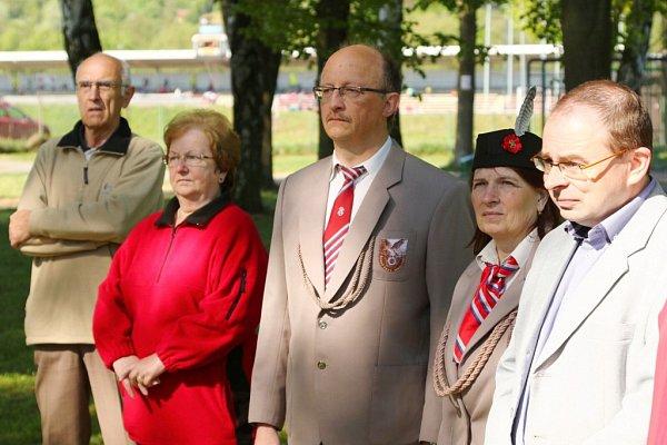Sokol vÚstí nad Orlicí obnovil pomník obětem války.
