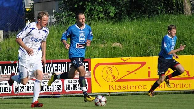 Letohradští fotbalisté porazili tým z Dobrovic 2:0.