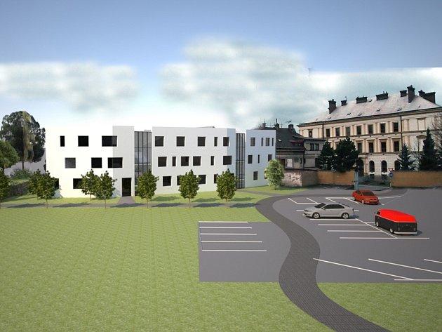 Vizualizace domů se startovacími byty.