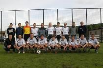 Mužstvo Jiskry Ústí nad Orlicí.