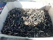 Při čištění studny na Lanškrounsku se našlo střelivo z druhé světové války.