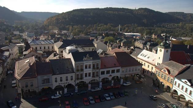 Náměstí v Ústí nad Orlicí