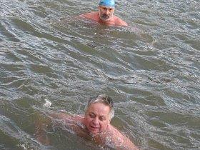 Zámecký okruh - soutěž v zimním plavání 2016