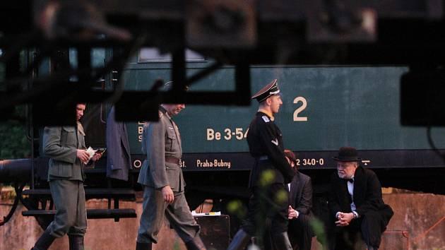 Vlak Lustig v Pardubicích