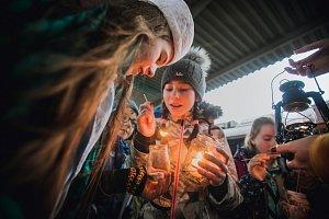 Betlémské světlo na východě Čech