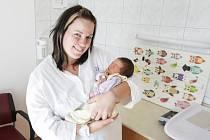 Rozárie Jindrová se narodila 27. 10. v 22. 10 hodin s mírami 49 cm a 3080 gramů. Rodiče Aneta a Tomáš jsou z Pardubic.