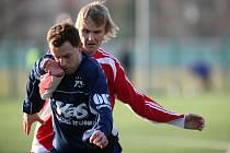 Na fotbalovém hřišti v Ohrazenicích proběhlo fotbalové utkání Tesla Pardubice B a FK OEZ Letohrad B