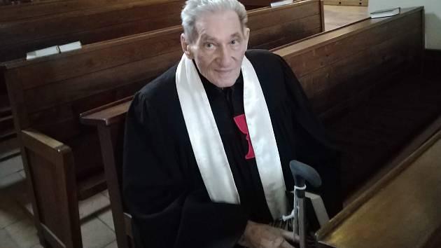 Farář Radoslav Hobza.