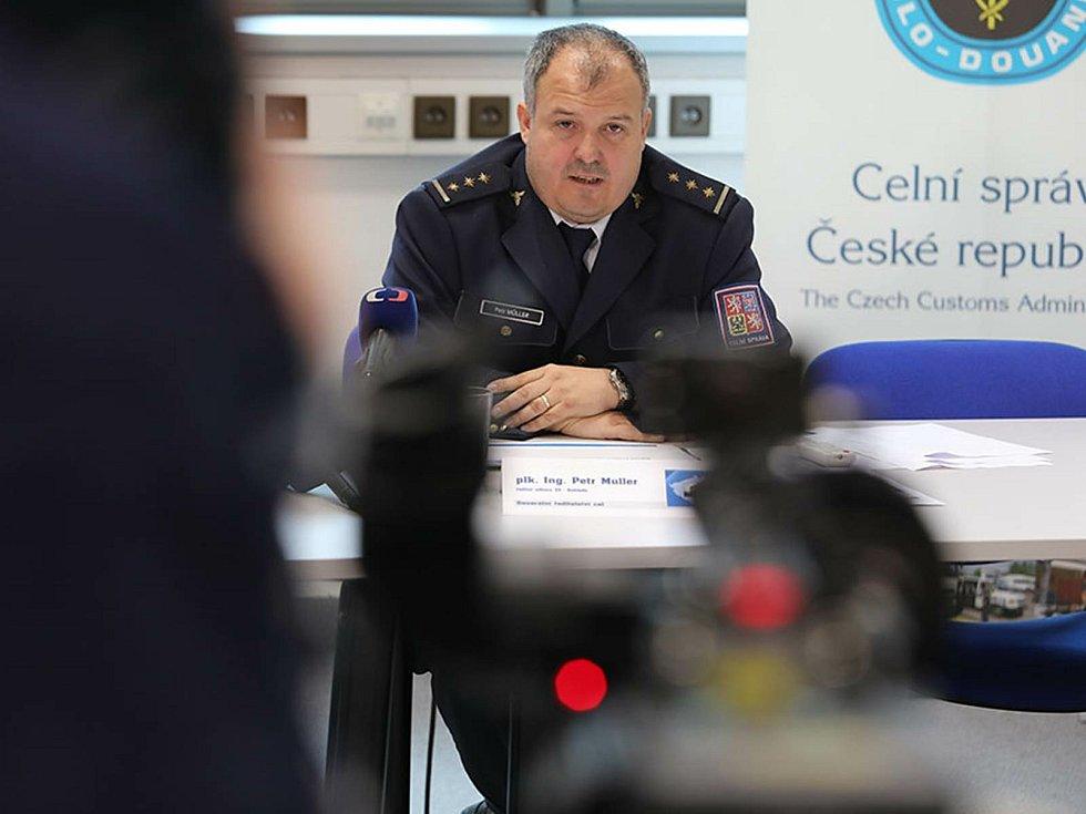 Petr Müller, ředitel odboru Dohledu, Generální ředitelství cel ČR.
