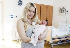 Andrea Hladíková  se narodila 19. ledna v 17:32 hodin. Vážila 3400 gramů a měřila 49 centimetrů. Maminku Věru u porodu podpořil tatínek Ondřej. Rodina je doma v Sopřeči.
