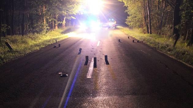 Proč ležel muž v noci na vozovce, není policii dosud jasné.