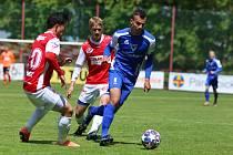 Přípravné utkání FK Pardubice – FC Sellier & Bellot Vlašim