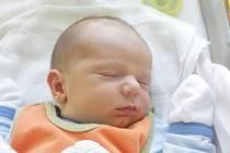 Oliver Dorazil se narodil v pondělí 4. května v 8:21 hodin. Vážil 3650 gramů a vážil 51 centimetrů. Maminka Markéta a tatínek Martin jsou z Pardubic.