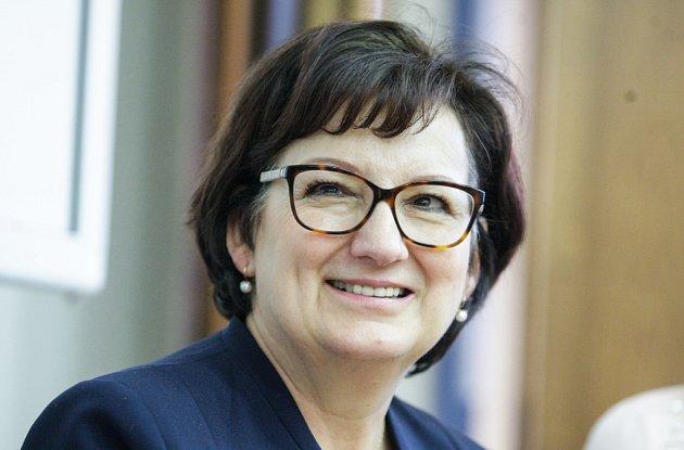 Eva Drahošová navštívila Pardubice.