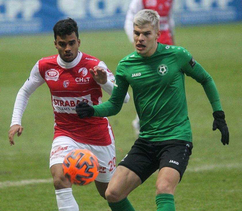 FORTUNA:LIGA: FK Pardubice - 1. FK Příbram.