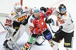 Hokejové utkání  HC Dynamo Pardubice - HC Sparta Praha