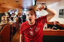 Fotbaloví fanoušci: Česko vs. Skotsko v Pardubicích