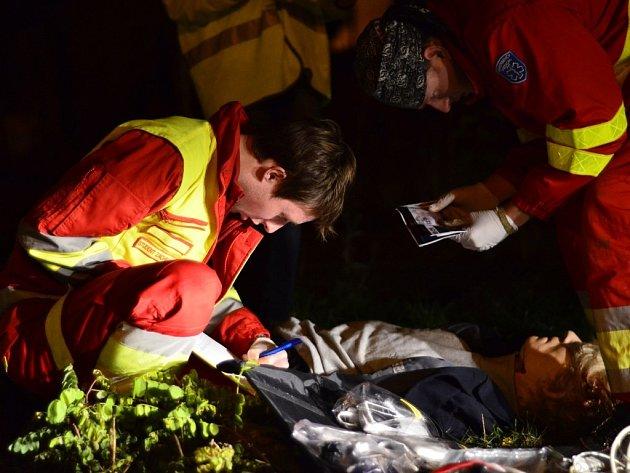 Mezi životem a smrtí je soutěž mladých záchranářů