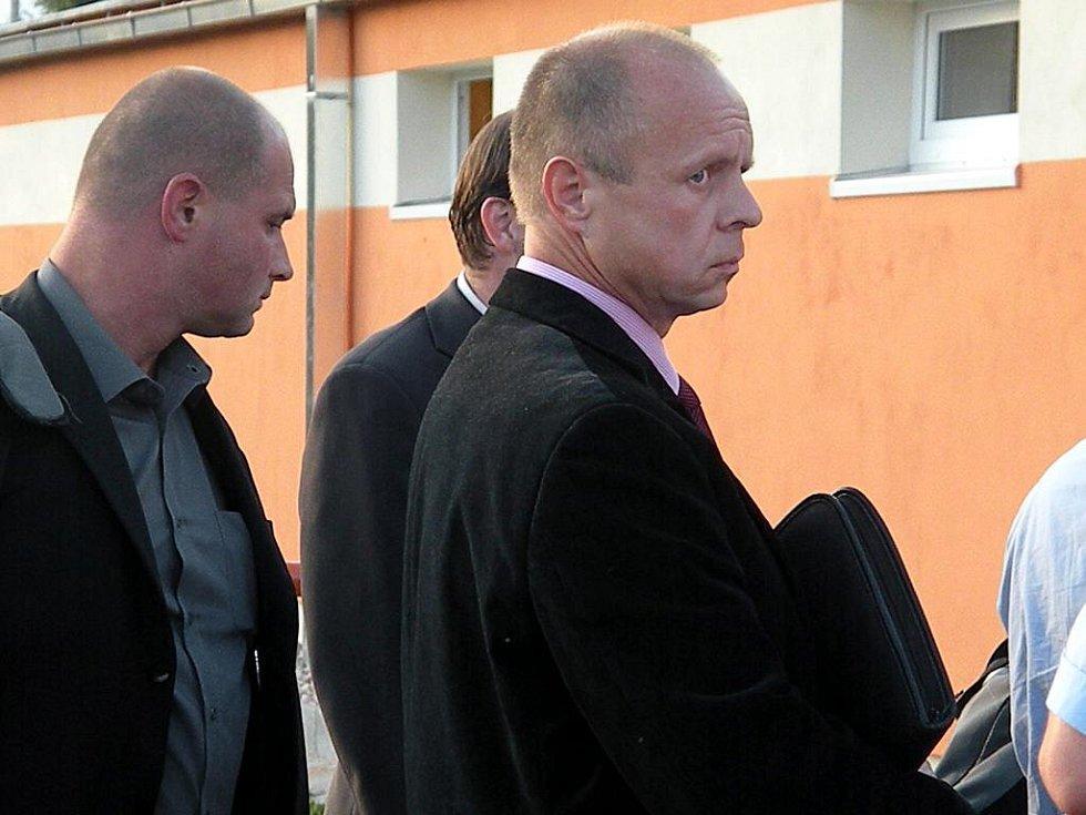 Napadení nebyl ušetřen ani delegár Vladimír Štěpánek