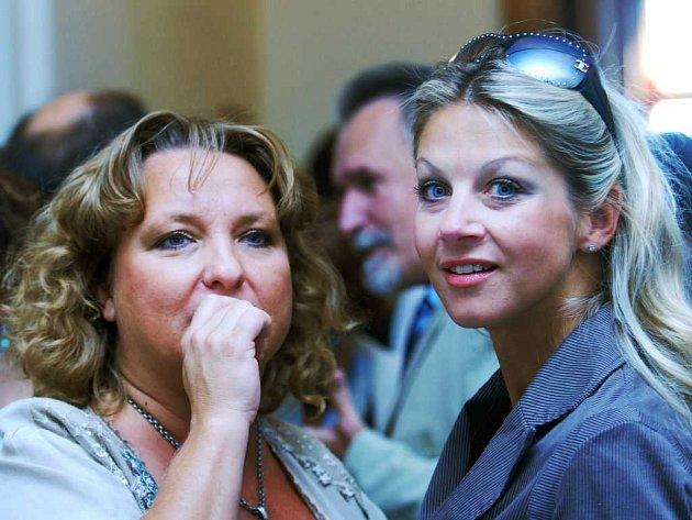 Martina Hudečková a Sabina Laurinová
