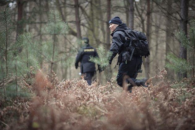 Policisté v okolí Břehů u Přelouče pátrali po nezvěstném muži.