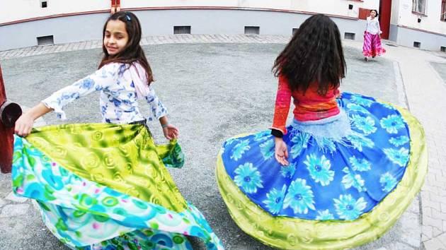 Ukázky romských tanců