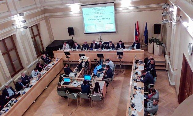 Jednání zastupitelstva města Pardubice 23.listopadu 2017.