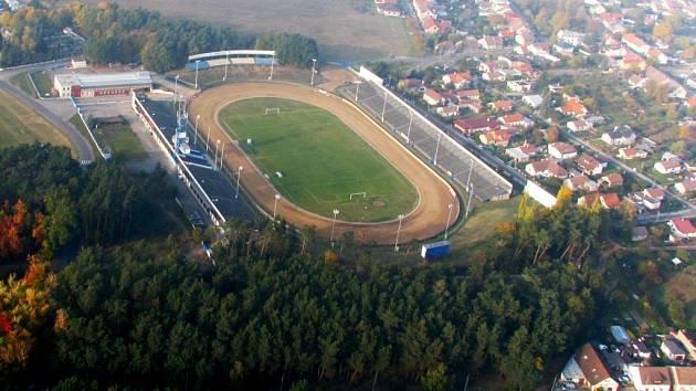 Plochodrážní stadion ve Svítkově