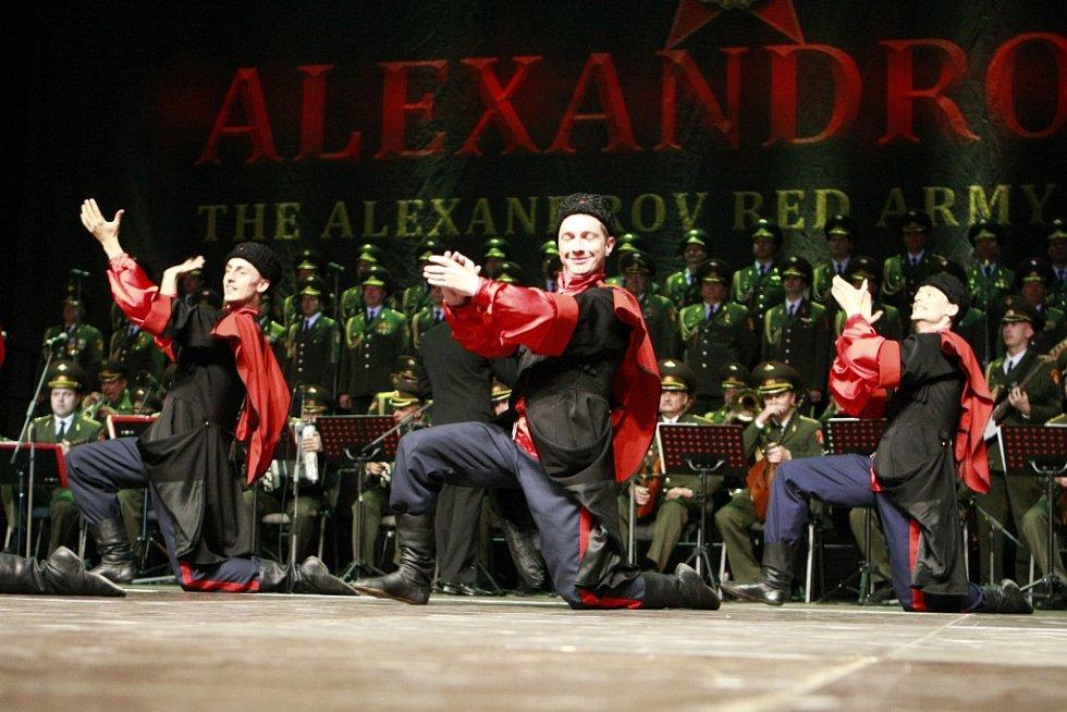 Legendární Alexandrovci zavítali ve středu večer do pardubické ČEZ Areny