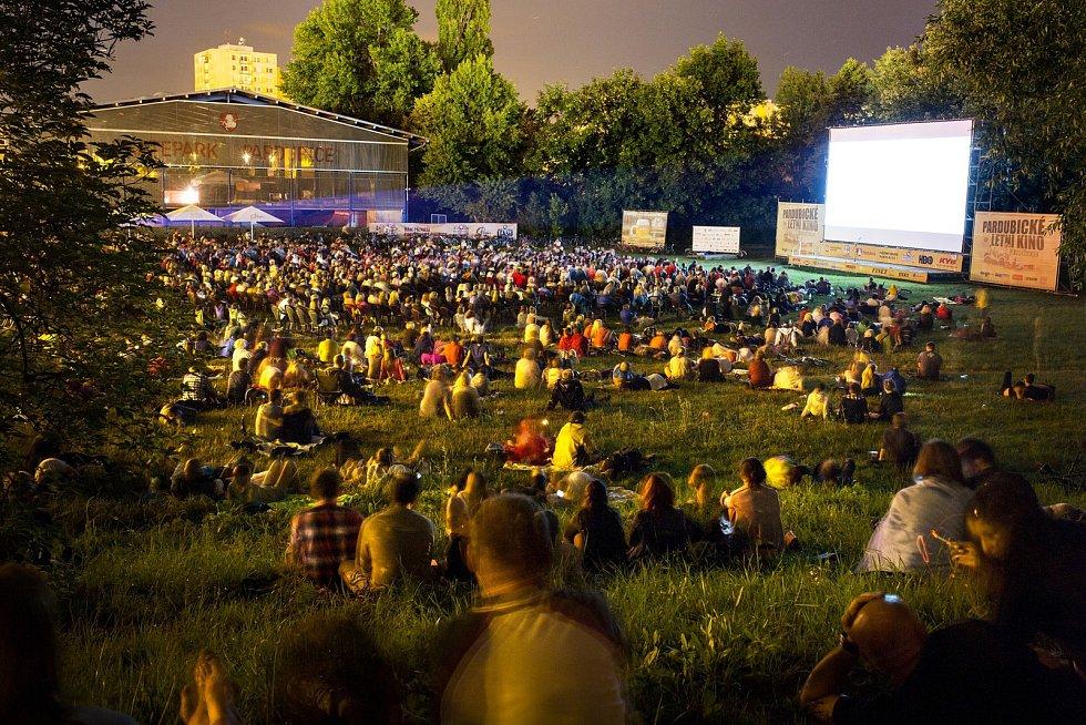 Pardubické letní kino.
