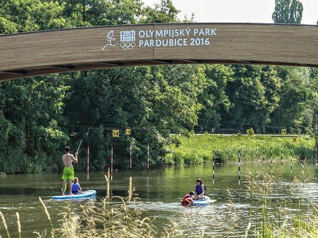 Olympijský park Pardubice už se chystá.