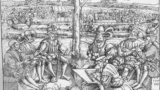 Válečná porada, 1546.