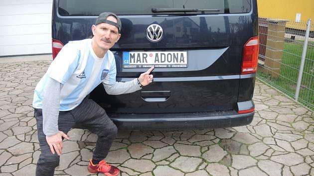 Jeden z příběhů... Miloslav Urbanec je obrovský milovník argentinského fotbalu a Maradony